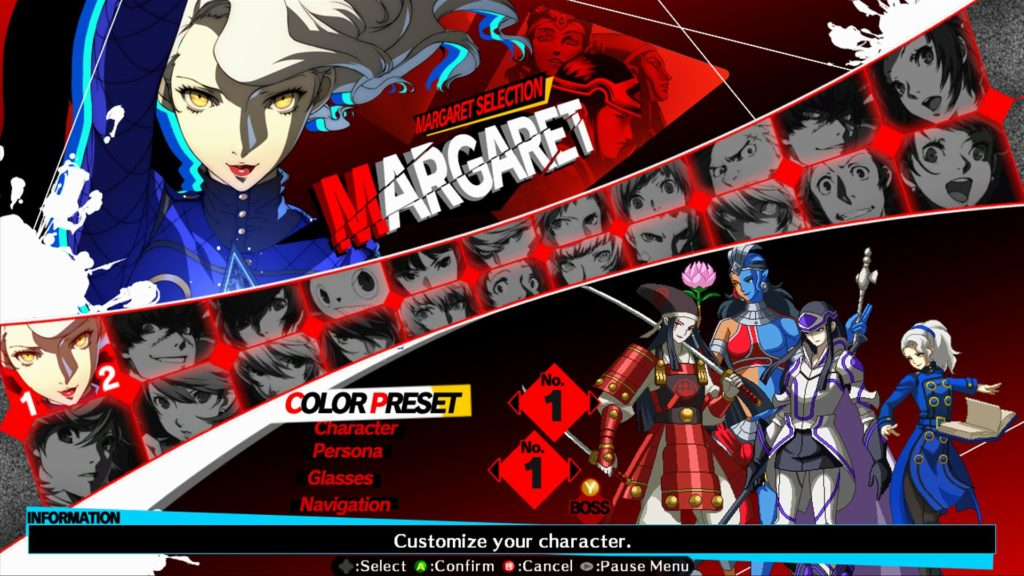 persona-4-ultimax-select-screen