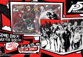 L'edizione Steelbook di Persona 5 ha un volto!
