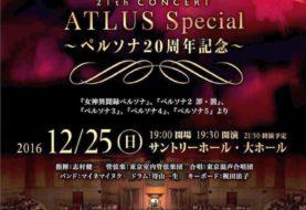 Annunciata la terza edizione del ''Game Symphony Japan x Atlus Persona 20th Anniversary''