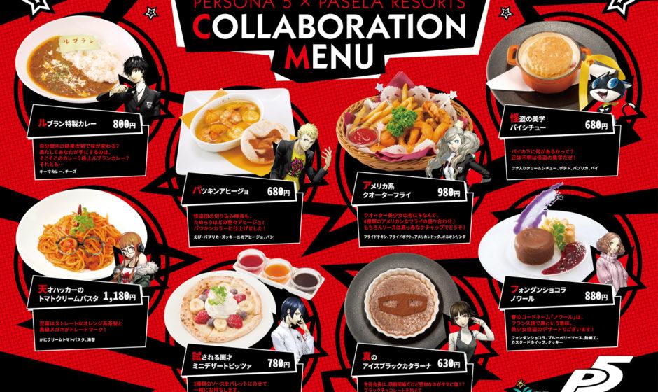 Annunciata una collaborazione tra Persona 5 e Pasela Resorts