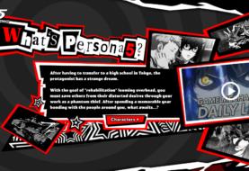 Il sito inglese di Persona 5 apre i battenti!