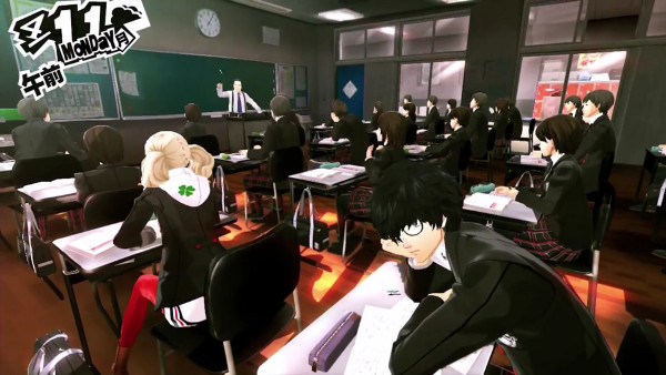 Persona 5 School Answers