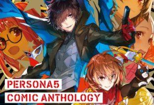 Rivelata la cover del secondo volume di Persona 5 Comic Anthology