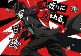 Persona 5 the Animation annunciato per il 2018