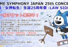 Shin Megami Tensei 25th Anniversary Law Side Concert, programma e merchandise