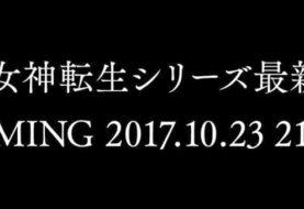 Un nuovo titolo Shin Megami Tensei sarà annunciato il 23 ottobre