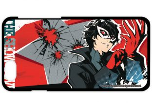 Persona 5 merchandise, annunciate T-shirt, iPhone case e spille