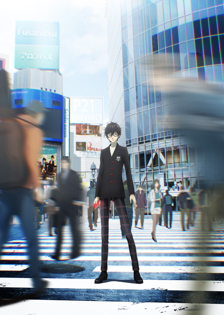 Persona 5 The Animation, key visual.