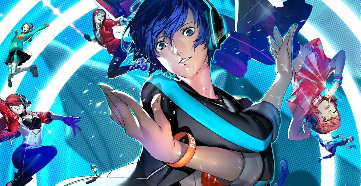 Persona 3 Dancing Moon Night, key visual