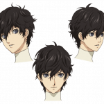 Persona 5 The Animation, character design di Ren Amamiya.