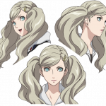 Persona 5 the Animation, Concept Art Ann