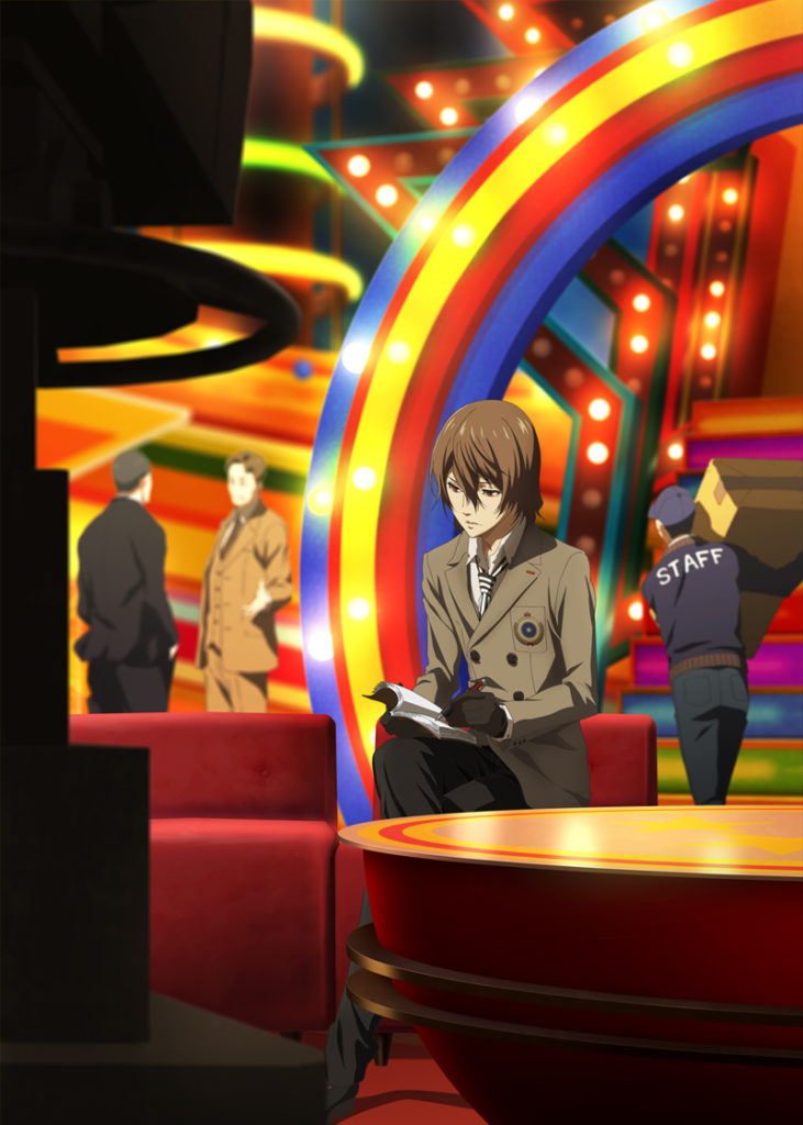 Goro Akechi, #9 Visual Key di Persona 5 The Animation