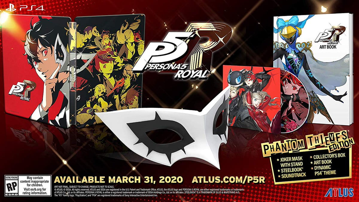 P5R Phantom Thief Edition